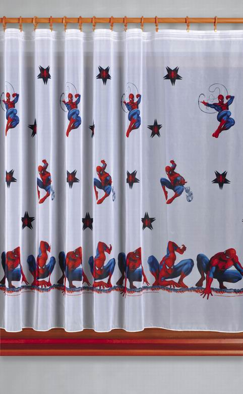 Firana Woalowa Spiderman